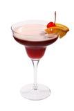 Cocktail de fruta vermelho Fotografia de Stock Royalty Free
