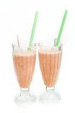 Cocktail de fruto em um copo com um straw5 Imagens de Stock Royalty Free