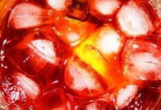 Cocktail de glace Photos libres de droits