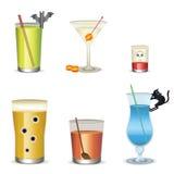 Cocktail de Halloween Imagens de Stock Royalty Free