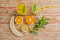Cocktail de jus naturel photos libres de droits