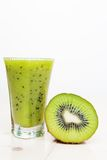 Cocktail de kiwi Photos libres de droits