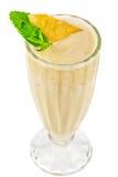 Cocktail de lait d'ananas Images libres de droits