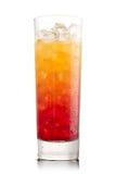 Cocktail de lever de soleil de Tequila photographie stock libre de droits