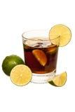 Cocktail de libre du Cuba Images libres de droits