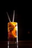 Cocktail de libre du Cuba dans un verre grand images stock