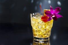 Cocktail de Mai Tai Photos stock