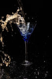 Cocktail de Martini, bebida Fotos de Stock Royalty Free