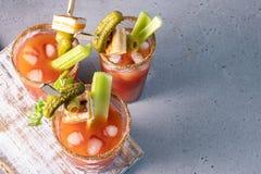 Cocktail de Mary sanglante image stock