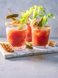 Cocktail de Mary sanglante image libre de droits