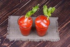 Cocktail de Mary sangrenta Fotos de Stock