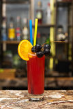 Cocktail de Mary sangrenta Fotos de Stock Royalty Free