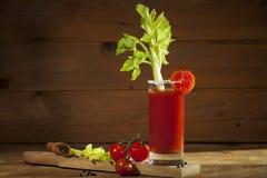 Cocktail de Mary sangrenta Imagem de Stock