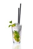 cocktail de Menthe-chaux dans un verre Photo libre de droits