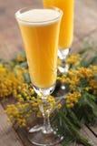 Cocktail de mimosa Photos libres de droits