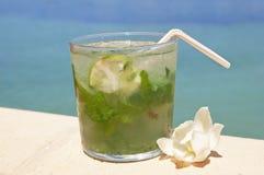 Cocktail de Mohito Fotos de Stock