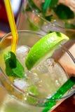 Cocktail de Mojito Photographie stock libre de droits