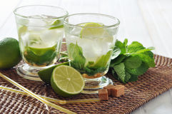 Cocktail de Mojito Images libres de droits