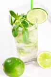 Cocktail de Mojito fotografia de stock