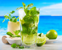 Cocktail de Mojito Fotos de Stock Royalty Free