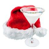 Cocktail de Noël Images libres de droits