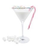 Cocktail de Noël Photo libre de droits