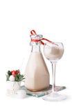 cocktail de Noël crémeux Photographie stock