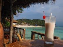 Cocktail de noix de coco Photos stock