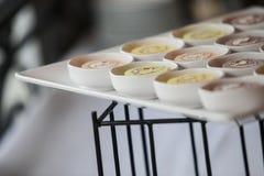 Cocktail de nourriture en partie Photo libre de droits
