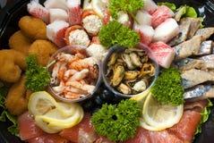Cocktail de nourriture marine Images stock