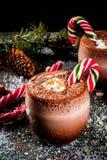 Cocktail de Pôle Nord de Noël Photo libre de droits