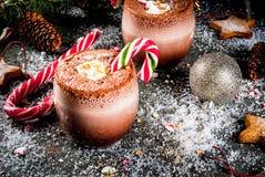 Cocktail de Pôle Nord de Noël images stock