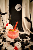 Cocktail de partie de Halloween Image stock