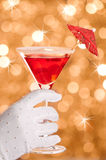 Cocktail de réception Images libres de droits