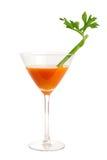 Cocktail de raccord en caoutchouc et de céleri Image libre de droits