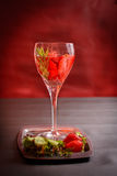 Cocktail de refrescamento Foto de Stock