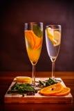 Cocktail de refrescamento do citrino Foto de Stock Royalty Free