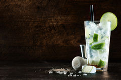 Cocktail de refrescamento do Natal Foto de Stock Royalty Free