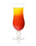 Cocktail de rhum tropical image libre de droits