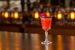 Cocktail de Ruby Rose Imagens de Stock Royalty Free