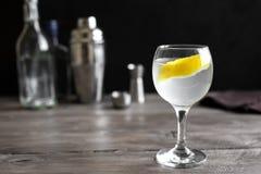 Cocktail de Vesper Martini photographie stock libre de droits