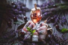 Cocktail dei ghiaccioli immagini stock