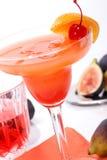 Cocktail del Campari fotografia stock libera da diritti