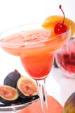 Cocktail del Campari Fotografia Stock