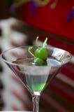 Cocktail del cioccolato della menta Fotografia Stock
