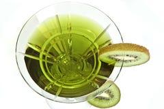 Cocktail del Kiwi Fotografie Stock