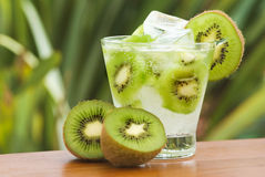 Cocktail del Kiwi fotografia stock libera da diritti