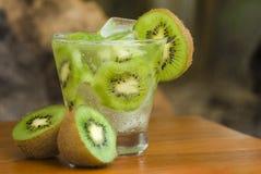 Cocktail del Kiwi immagini stock