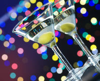 Cocktail del Martini Fotografia Stock Libera da Diritti