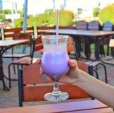 Cocktail del mirtillo Immagini Stock